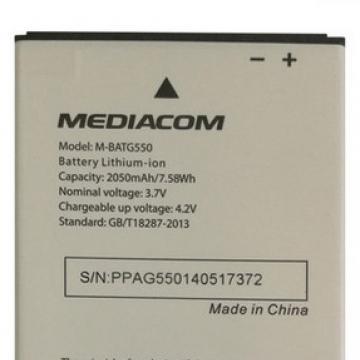 Mediacom G550 baterie