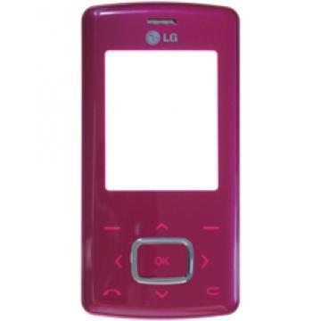 LG KG800 přední kryt růžový