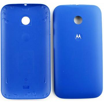 Motorola E kryt baterie modrý