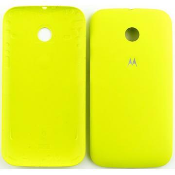 Motorola E kryt baterie žlutý