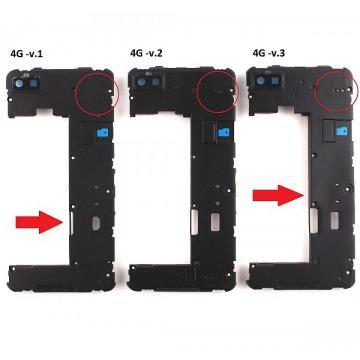 Blackberry Z10 střední kryt...