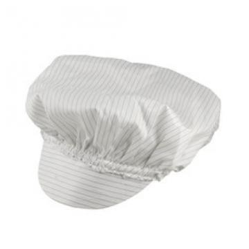 Antistatická čepice bílá