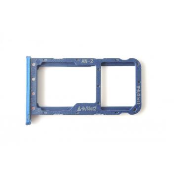 Huawei P20 Lite SIM tray modrý