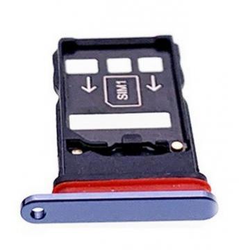 Huawei Mate 20X SIM tray modrý