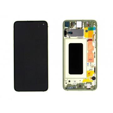 Samsung G970F LCD žlutý
