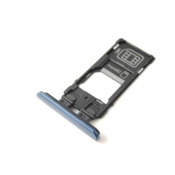 Sony J9210 Dual SIM tray modrý