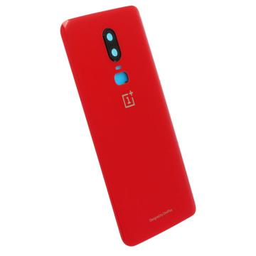 Oneplus 6 kryt baterie červený