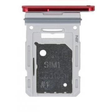 Samsung G781F SIM tray červený