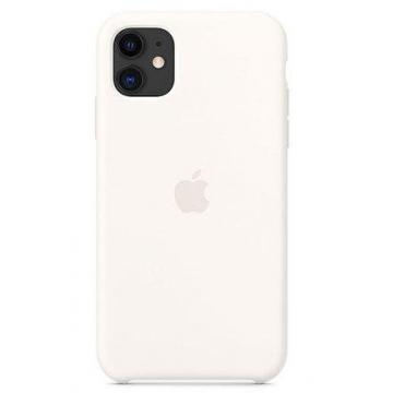 Iphone 11 silicone case white