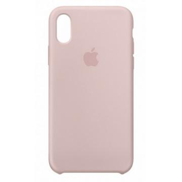 Iphone X,XS silicone case pink