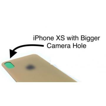 iPhone XS zadní kryt / sklo...