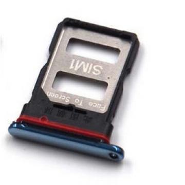 Xiaomi Poco F3 SIM tray modrý