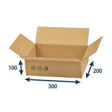 Krabice klopová 300x200x100mm