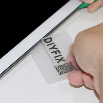 Plastová otvírací karta SET...