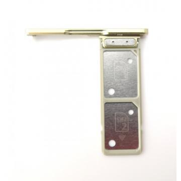 Sony H4213 SIM tray DUAL zlatý