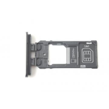 Sony J9210 Dual SIM tray černý