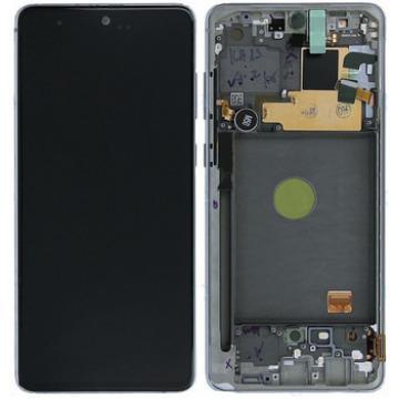Samsung N770F LCD stříbrné